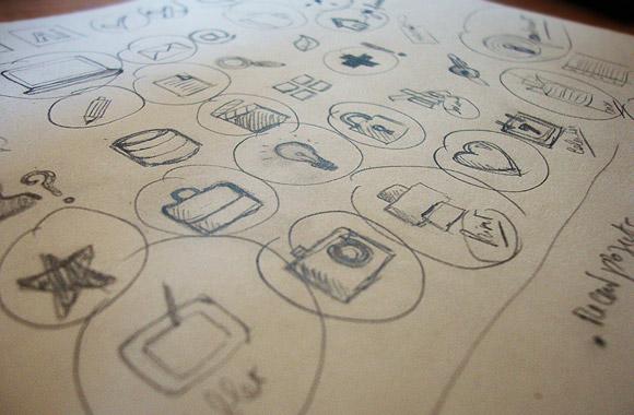 Designer's Portfolio icons Vol1