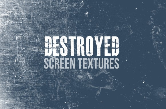 Destroyed Screen Texture Pack