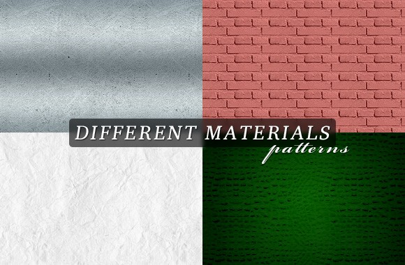 Different materials patterns Vol1