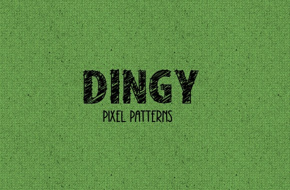 Dingy Pixel Pattern Set