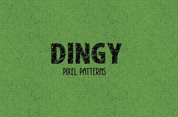 Dingy Pixel Pattern Set