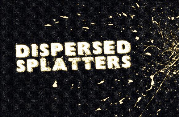 Dispersed Splatters Brush Set