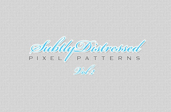 Subtly Distressed Pixel Patterns Vol 2