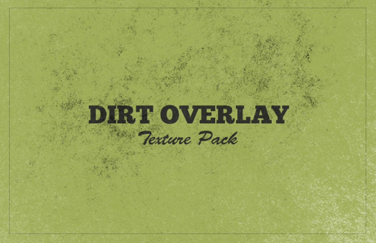 Dirt Overlay Texture Set Dirt Slide11