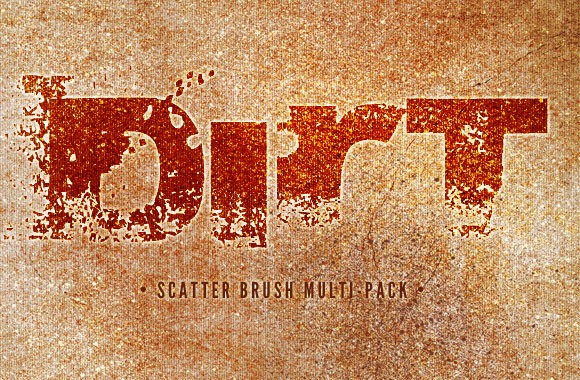 Dirt Multi-Pack - Scatter Brushes and Textures