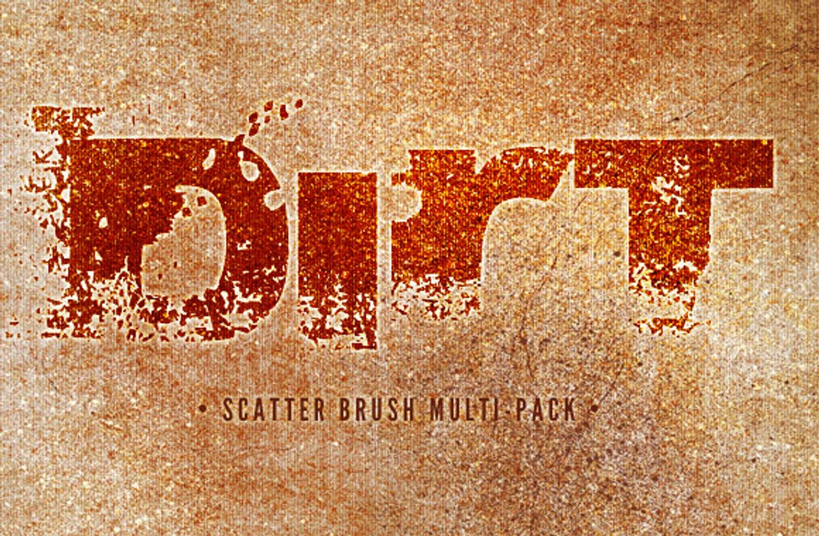 Dirt and Scratches - Brushes and Textures Pack