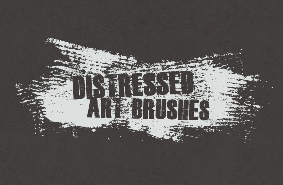 Distressed Vector Art Brushes