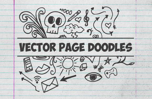Vector Page Doodles Vol2