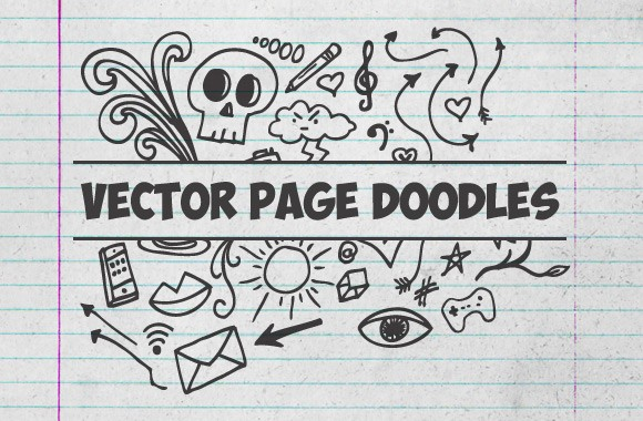 Vector Page Doodles Vol2