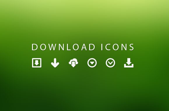 24 Vector Download Icons