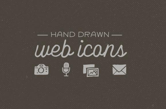 Hand Drawn Web Icons