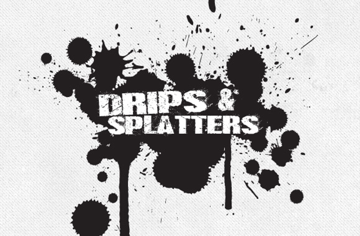 Drip Collection - 20 Brushes and Vectors