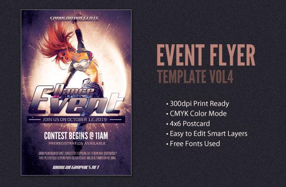 Event Postcard / Flyer Template Vol4