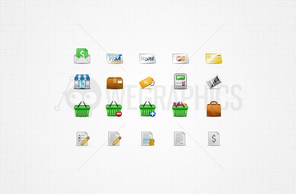 E-commerce icons 32px Vol1