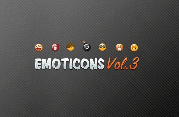 Emoticons - Vol 3