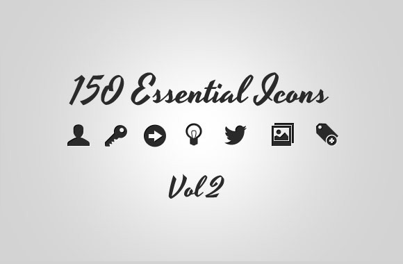 150 Essential Icons Collection Vol 2