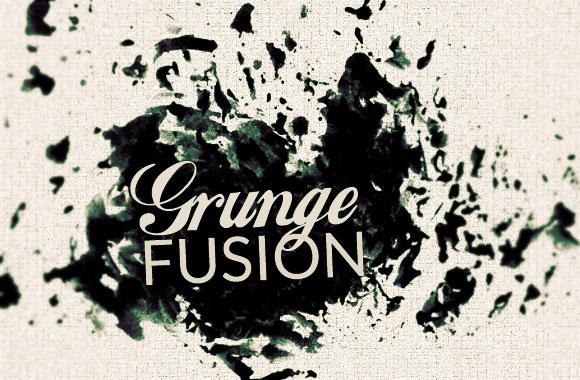 Grunge Fusion Photoshop Brush Set