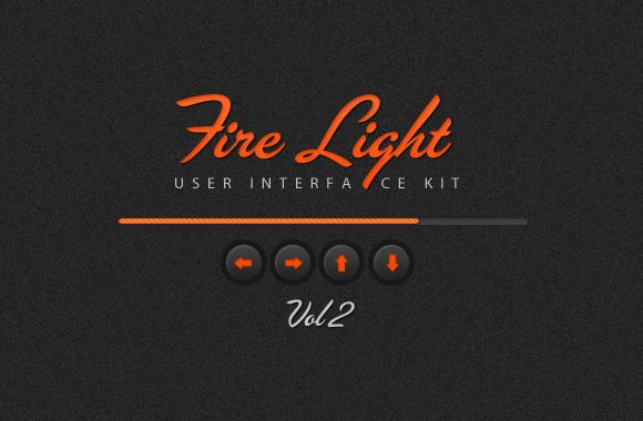 Fire Light UI Kit Vol 2