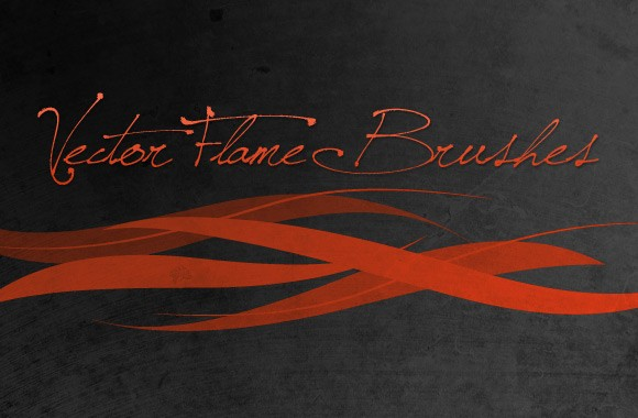 Vector Flame Brushes