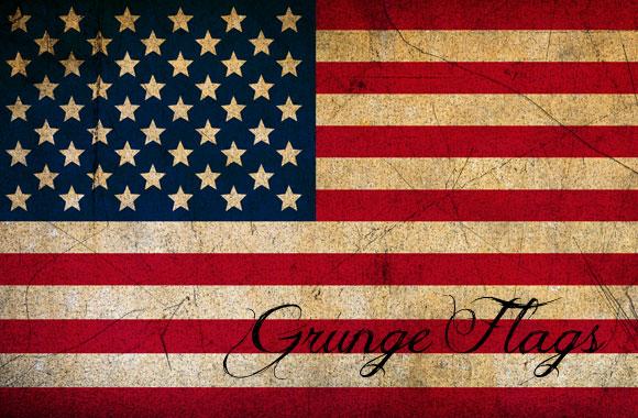 Free Grunge Flag Textures