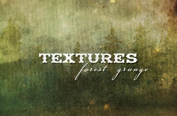Forest grunge textures