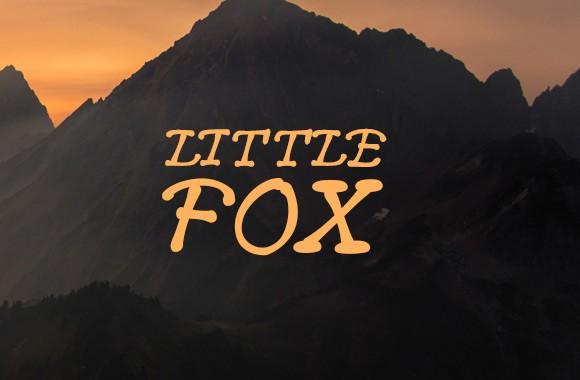Little Fox - Hand Drawn Font
