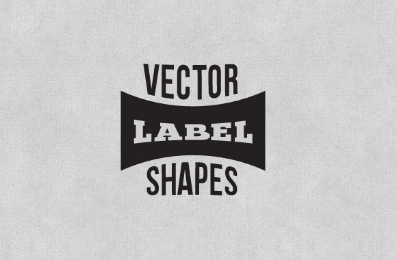 Free Label And Badge Vector Shapes