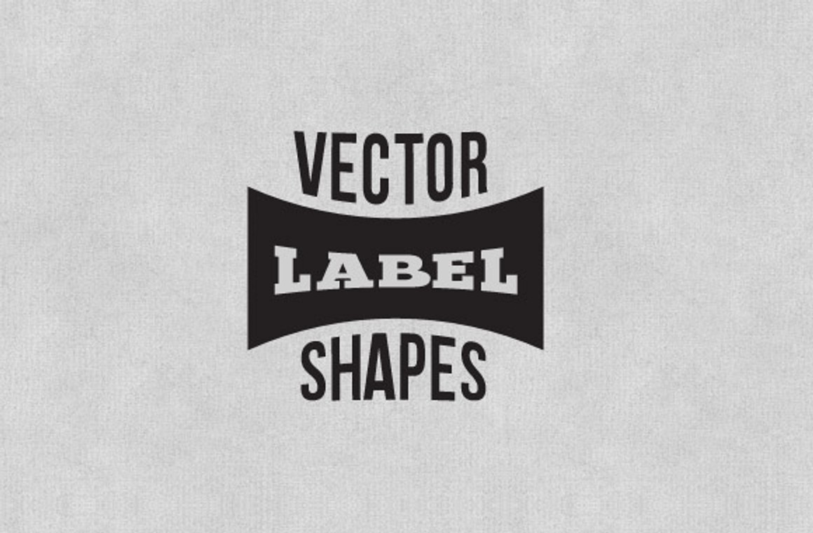 Free Label And Badge Vector Shapes - WeGraphics
