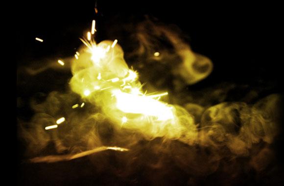 Free Falling Sparks Brush Set