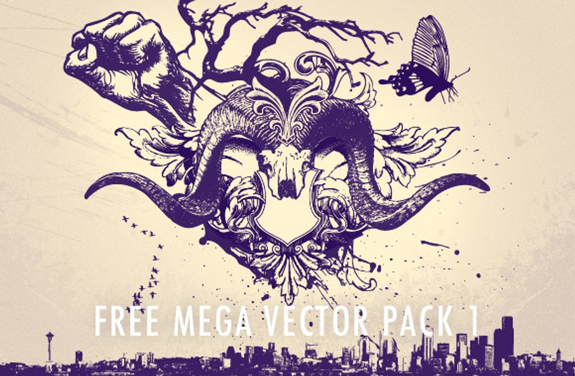Free Mega Vector Pack #1