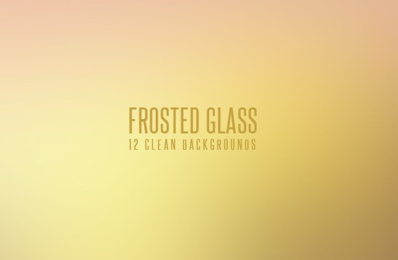Frosted Glass Backgrounds