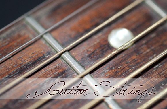 Guitar Strings Texture