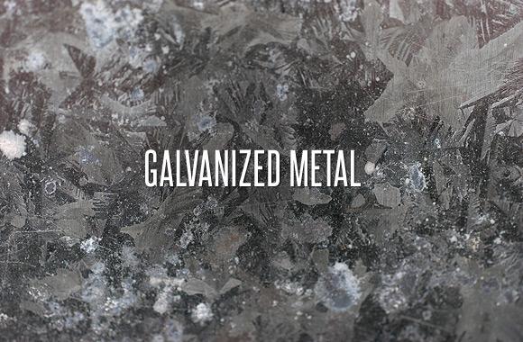 Galvanized Metal Texture Pack