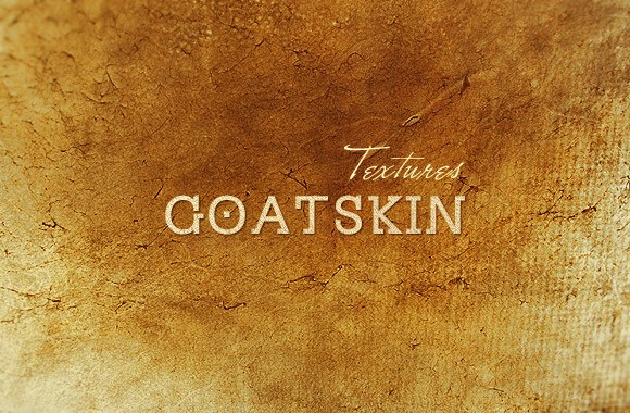 Highly-detailed goatskin textures