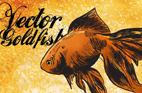 Vector Goldfish