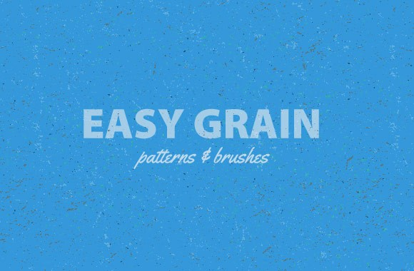 Easy Grain Patterns and Brushes
