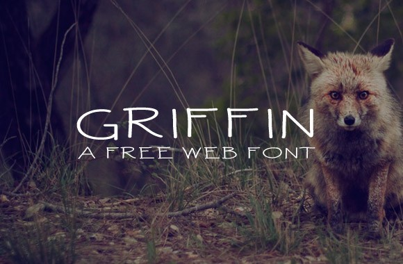 Griffin - A Free Web Font Kit