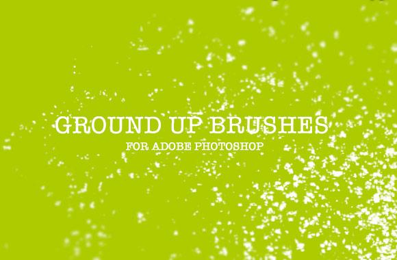 Ground Up Photoshop Brushes