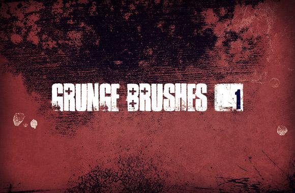 Grunge Brush Set Vol1