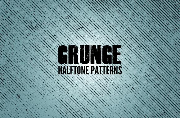 Grunge Halftone Textures 1