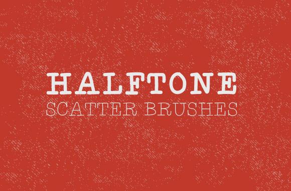 Halftone - Illustrator Scatter Brushes