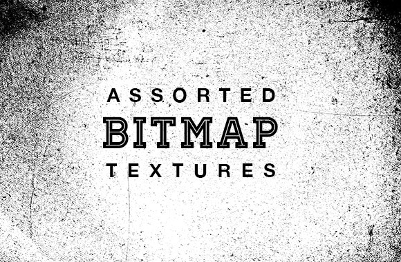 High Res Assorted Bitmap Textures