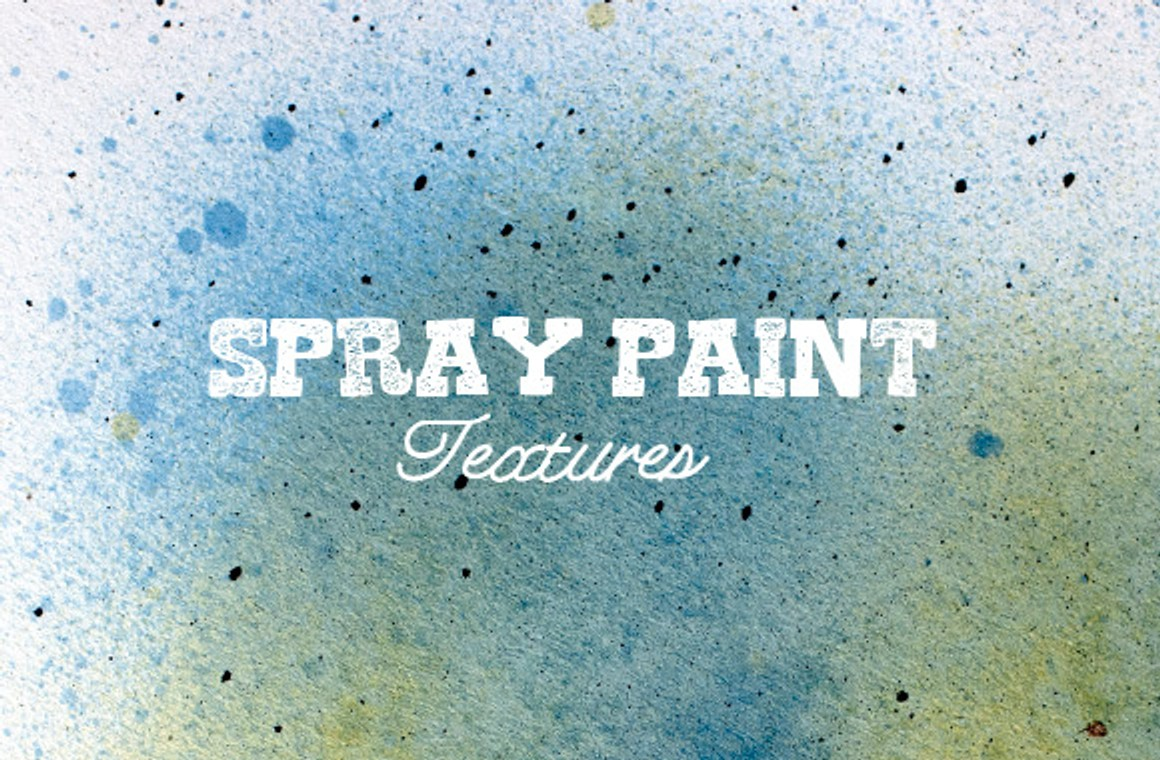 Free Textured Spray Paint Brushes