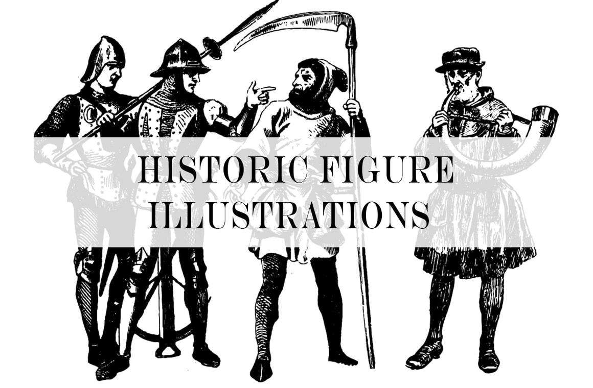 Historic Figure Illustrations