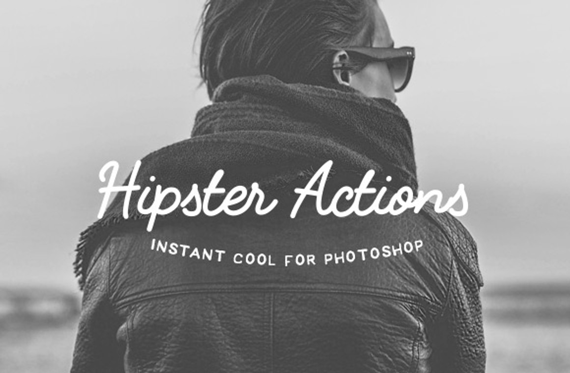 Hipster Tones - Photoshop Action Set