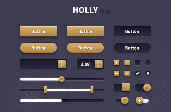 Holly Web UI Kit