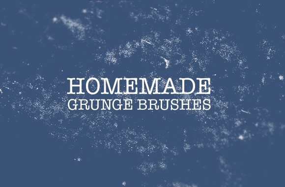 Homemade Grunge Brushes