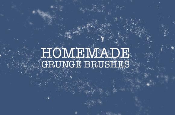 Homemade Grunge Brushes