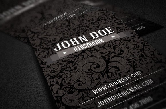 Free Illustrator Business Card Template