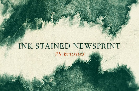 Ink Stained Newsprint
